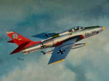 Sword 1/72 Model Kit 72117 Republic RF-84F Thunderflash USAF, France, Luftwaffe and Norway